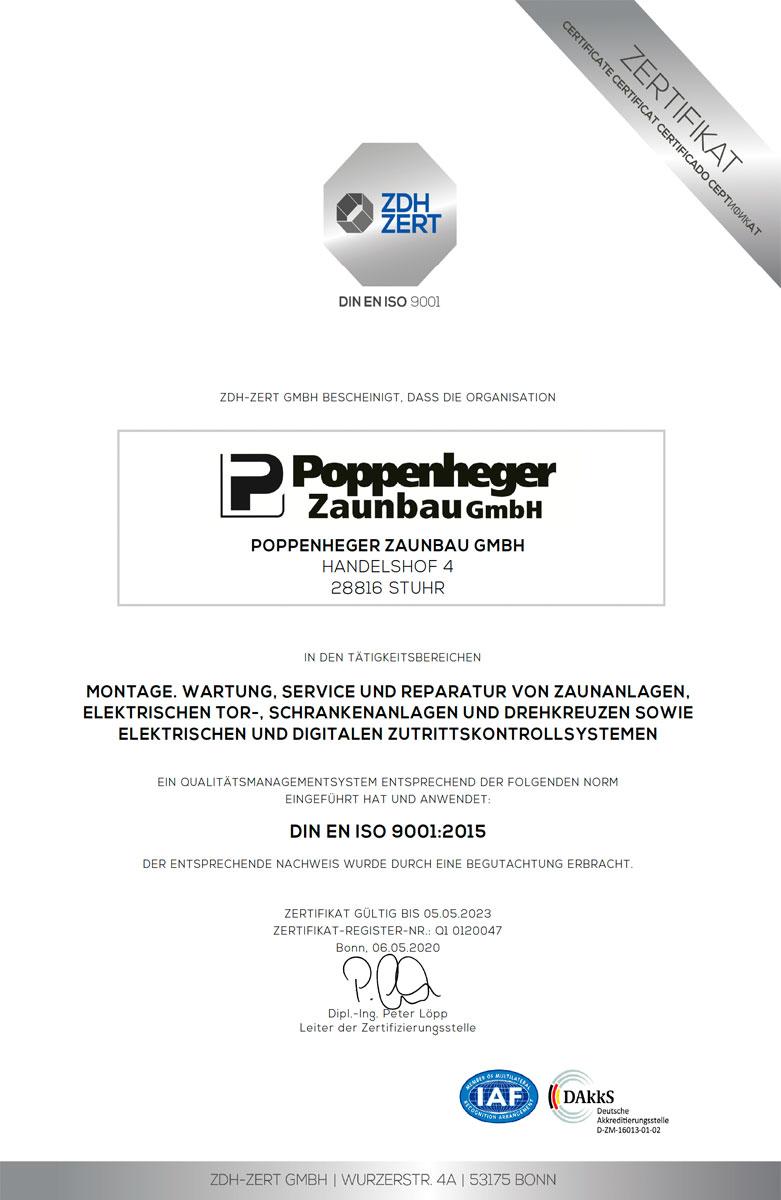 Poppenheger